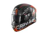 Shark Skwal 2.2 Noxxys Black Orange Silver Helmet (KOS)