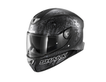 Shark Skwal 2.2 Replica Switch Riders 2 Mat Black Anthrac Silver Helmet (KAS)