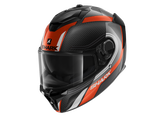 Shark Spartan GT Carbon Tracker Anthracite White Helmet (DAW)