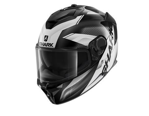 Shark Spartan GT Elgen Black Anthrac White Helmet (KAW)