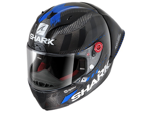 Shark Race-R Pro GP Lorenzo Winter Test 99 Carbon Anthracite Blue Helmet (DAB)