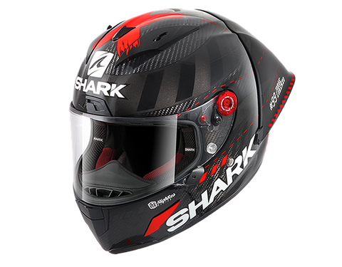 Shark Race-R Pro GP Lorenzo Winter Test 99 Carbon Anthracite Red Helmet (DAR)