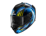 Shark Spartan GT Replikan Black Chrom Blue Helmet(KUB)