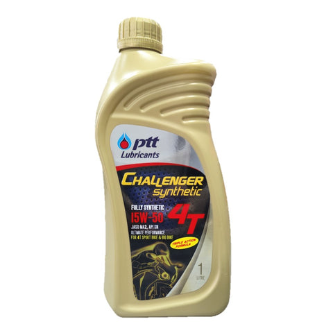 PTT Challenger Synthetic 4T 15W-50 1000ml