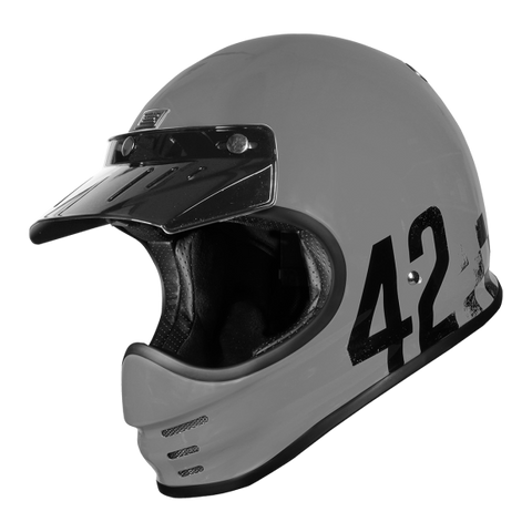 Origine Virgo Danny Gloss Grey Helmet
