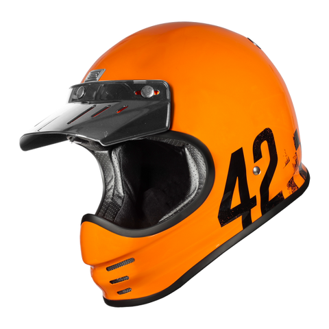 Origine Virgo Danny Gloss orange Helmet