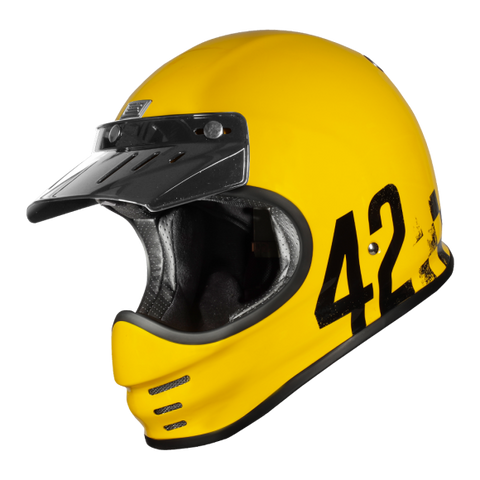 Origine Virgo Danny Gloss Yellow Helmet