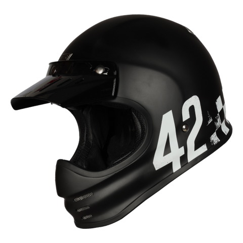 Origine Virgo Danny Matt Black Helmet