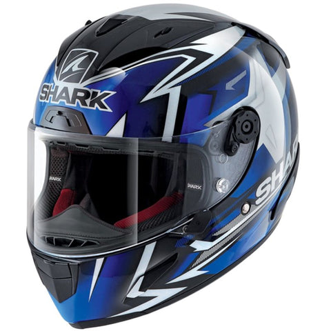 Shark Race-R Pro Replica Oliveira 2019 Black/Blue/White Helmet (KBW)