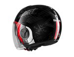 Shark Nano Tribute RM Black White Red Helmet (KWR)