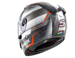 Shark Race-R Pro Carbon Replica Zarco Malaysian GP Carbon Red Anthracite Helmet (DRA)