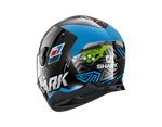 Shark Skwal 2.2 Noxxys Black Blue Green Helmet (KBG)