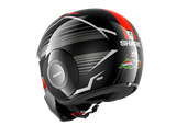 Shark Street-Drak Replica Zarco Malaysian GP Black Orange Antraci Helmet (KOA)