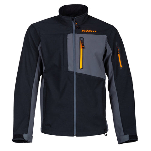 Klim Inversion Jacket Black Strike Orange Jacket