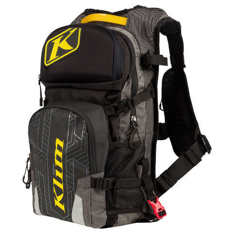 Klim Nac Pak with Shape Shift 3L Gray Hydrapak
