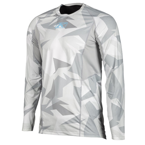 Klim Aggressor Cool -1.0 Light Gray Camo Long Sleeve