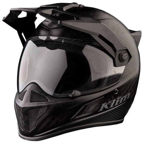 Klim Krios Karbon Adventure Stealth Matt Black Helmet