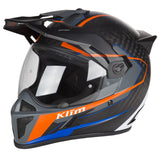Klim Krios Karbon Adventure Vanquish Orange Helmet