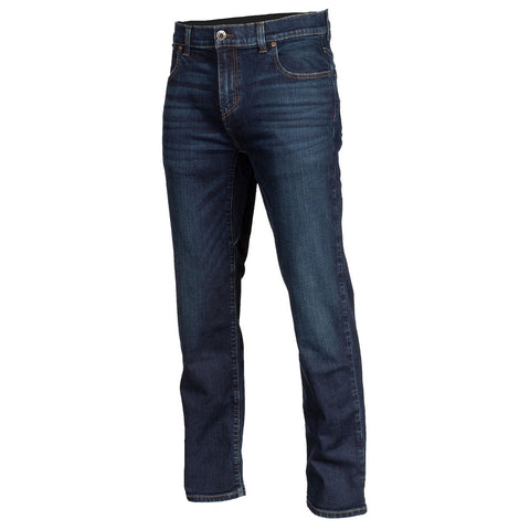 Klim Unlimited Straight Stretch Denim Indigo Jean