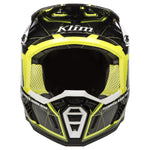 Klim F5 ECE Demolish Green Helmet