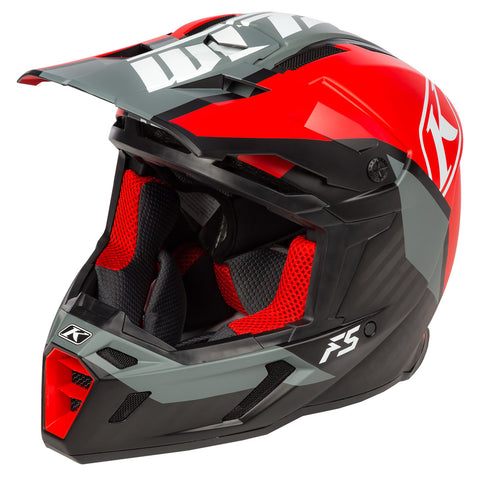 Klim F5 ECE Ion Red Helmet