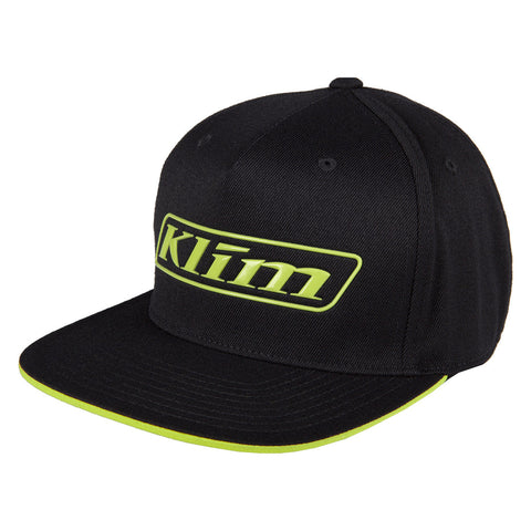 Klim Slider Black Hi-Vis Hat