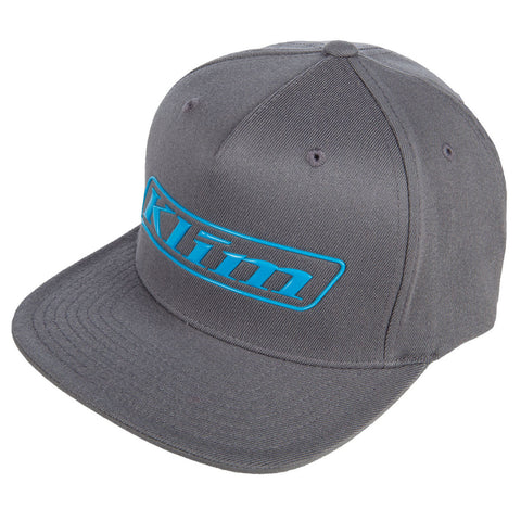 Klim Slider Monument Gray Vivid Blue Hat