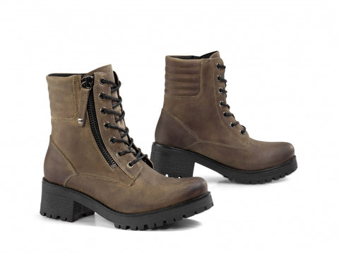 Falco 662 Misty Army Green Women Boots