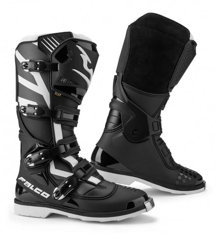 Falco 121 Razor Black-White Boots