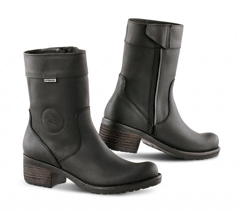 Falco 652 Ayda 2 Black Women Boots
