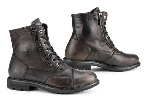 Falco 747 Aviator Black Boots