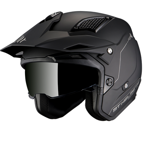 MT Helmets District SV Matt Black Helmet