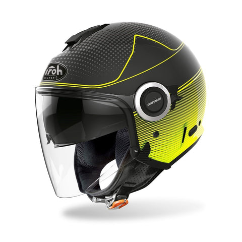 Airoh Helios Map Yellow Matt Helmet