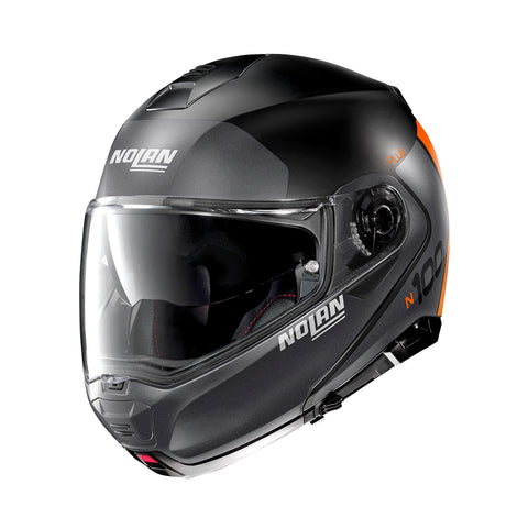 Nolan N100-5 Plus Distinctive 26 Flat Black Helmet