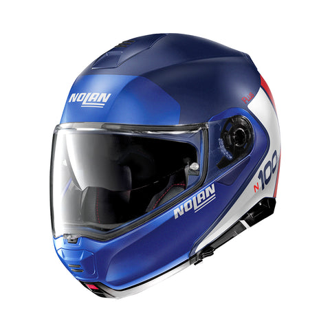 Nolan N100-5 Plus Distinctive 29 Imperial Blue Helmet