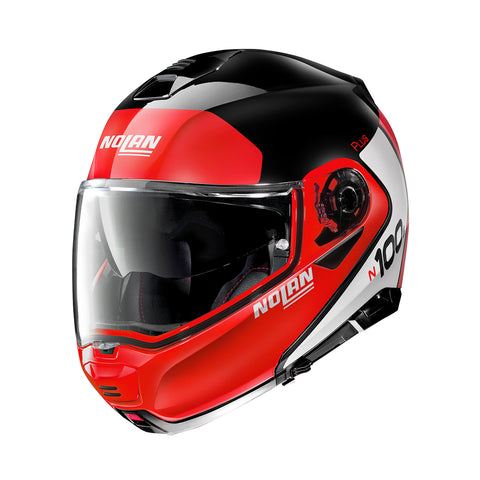 Nolan N100-5 Plus Distinctive 27 Glossy Black Helmet
