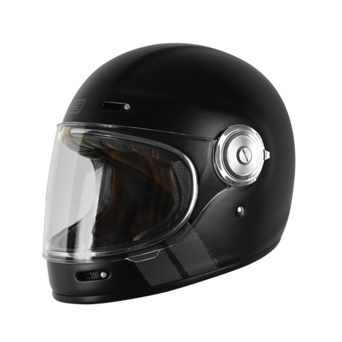 Origine Vega Matt Stripe Black Helmet