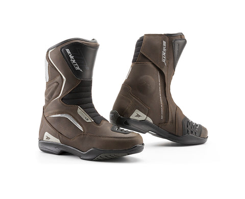 Seventy Degrees SD-BT3 Touring Unisex Brown Boots