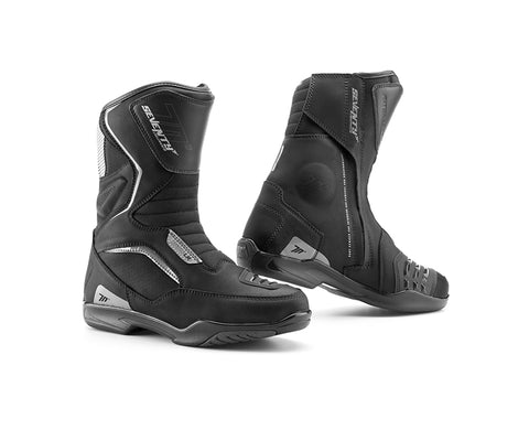 Seventy Degrees SD-BT3 Touring Unisex Black Boots