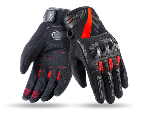 Seventy Degrees SD-N14 Summer Naked Man Black/Red Glove