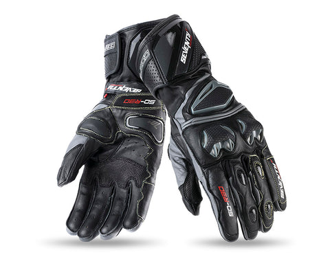 Seventy Degrees SD-R30 Racing Man Black/Grey Glove