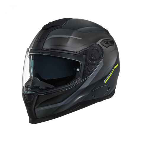Nexx SX.100 Mantik Black/Grey MT Helmet