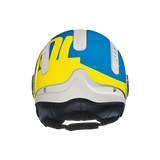 Nexx SX.10 Cooljam Blue/Yellow Helmet