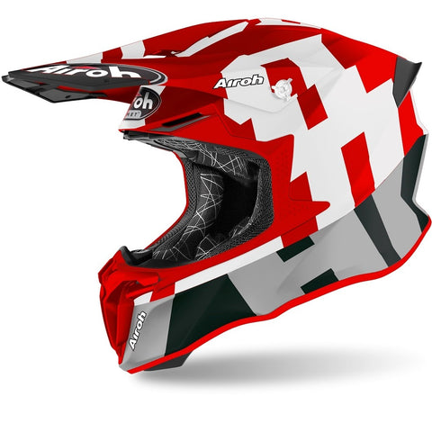 Airoh Twist 2.0 Frame Red Matt Helmet