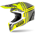 Airoh Wraap Broken Yellow Matt Helmet