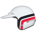 Nexx X.G10 Larry Span White/Red Helmet