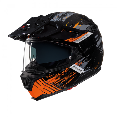 Nexx X.Vilijord Mudvalley Black/Orange Helmet