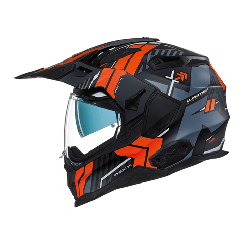 Nexx X.Wed2 Wild Country Black/Orange MT Helmet
