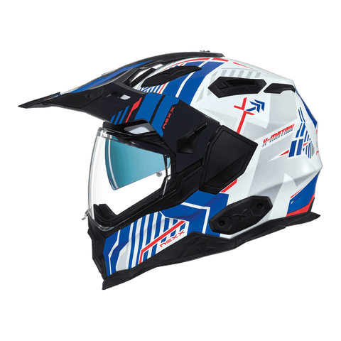 Nexx X.Wed2 Wild Country White/Blue Helmet