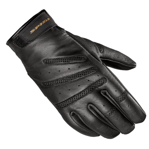 Spidi Summer Glory Leather Black Gloves